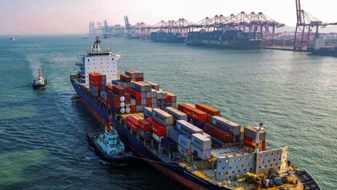 海運寒冬! 洛杉磯港2月進口量年減23%(圖片:AFP)