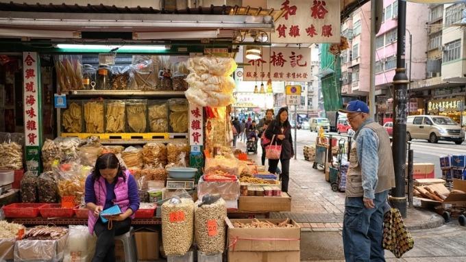 疫情重擊香港中小企業情緒 2月景氣指數創史上新低  (圖:AFP)