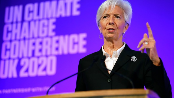 拉加德:武漢肺炎 恐令歐洲面臨2008年式的海嘯危機 (圖片:AFP)