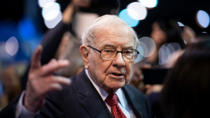 股神巴菲特:我花了 89 年才經歷這般市場恐慌。(圖片:AFP)
