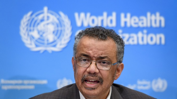 最新!世衛:武漢肺炎是全球大流行疾病 (圖片:AFP)