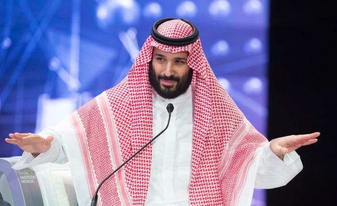 沙爾曼王儲不再低調 (圖: AFP)