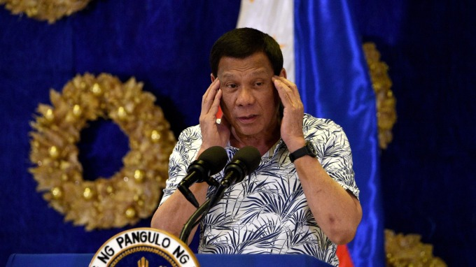 菲律賓總統杜特蒂宣布:首都馬尼拉封城至少 30 天。(圖片:AFP)