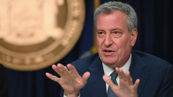 紐約市進入緊急狀態 市長:疫情危機可能持續 6 個月。(圖片:AFP)