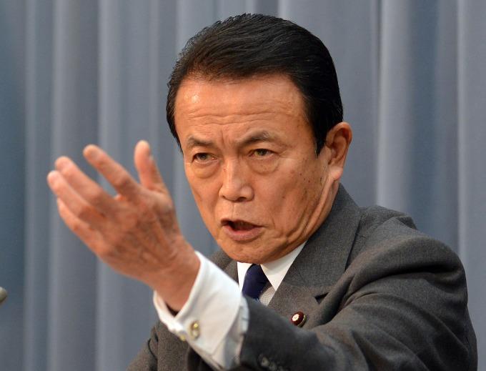 麻生太郎 (圖片:AFP)
