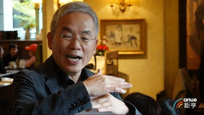 騰輝-KY 董事長勞開陸。(鉅亨網記者張欽發攝)