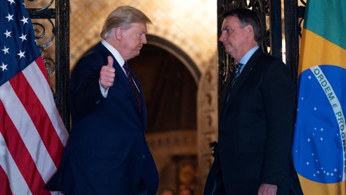 全球首位元首中鏢?巴西總統否認罹患武漢肺炎。(圖片:AFP)