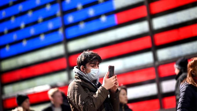 疫情衝擊 高盛:美國第二季GDP預估將縮減5%(圖片:AFP)