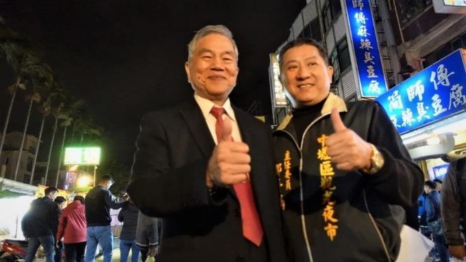 經濟部長沈榮津(左)。(圖:經濟部提供)