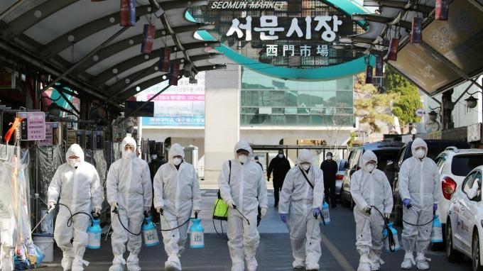 拉大防線!南韓擴大入境管制對象至所有國家地區 (圖片:AFP)
