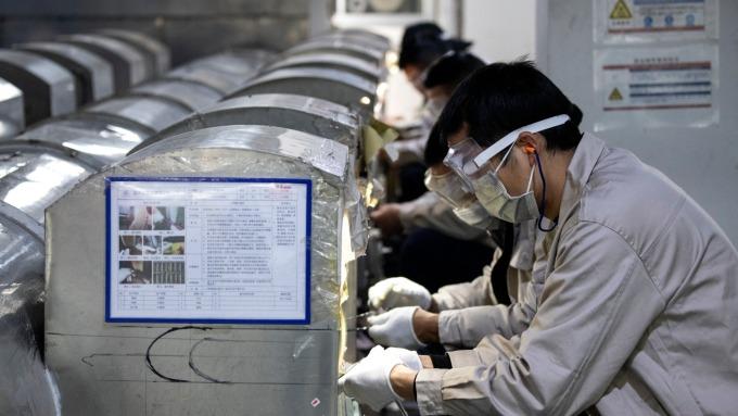 肺炎疫情襲擊 中國仍不敢停下半導體發展  (圖片:AFP)