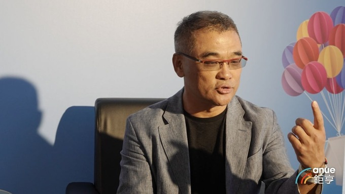海悅總經理王俊傑。(鉅亨網記者張欽發攝)