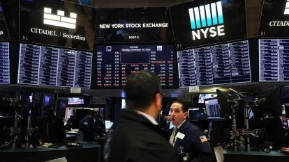交易員確診  NYSE宣布暫關交易大廳。(圖:AFP)