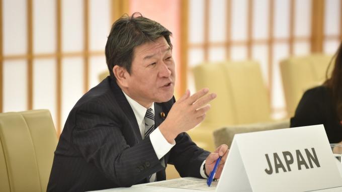中日韓外長取得共識 將合力撲滅武漢肺炎 (圖片:AFP)