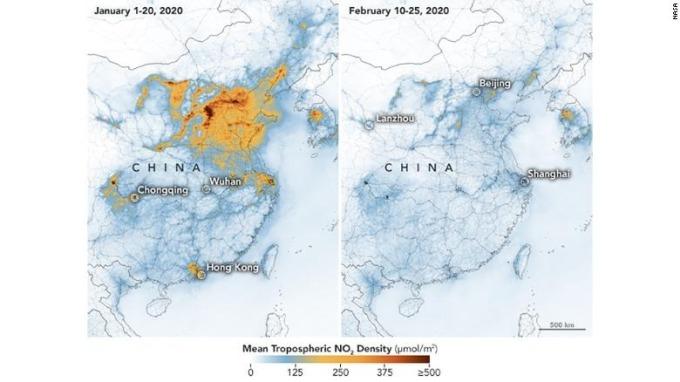 衛星雲圖比較 (圖表取自 CNN)