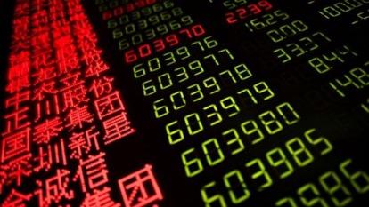 美期、韓股熔斷 上證力抗賣壓開盤下挫2.5%(圖片:AFP)