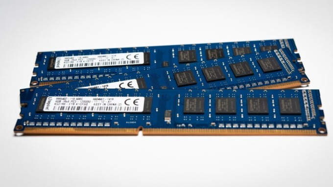 隨著DRAM價格走揚,愛普今年打消庫存壓力可望減輕。(圖:AFP)