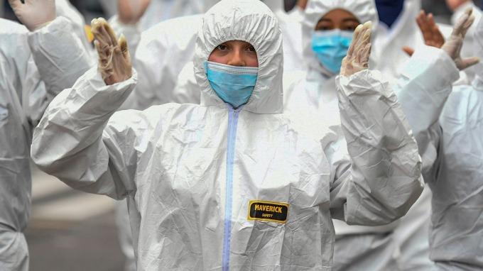 炒股王Tepper:大盤還會再跌10-15% 但我開始布局科技股了(圖片:AFP)
