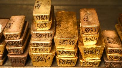 精煉及採礦中斷 Fed無上限寬鬆 金價本週上看1700美元(圖:AFP)