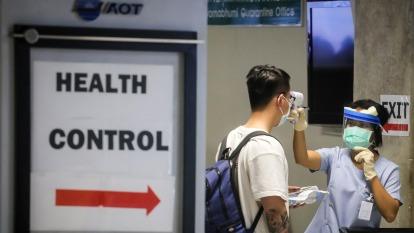 全球因武漢肺炎自中國向全球擴散引爆的緊繃情緒,未見紓緩跡象。(圖:AFP)