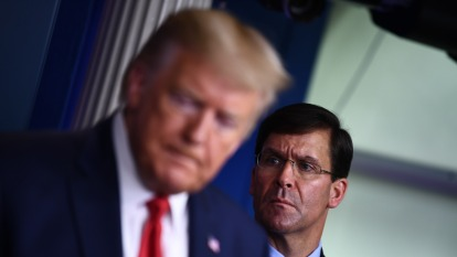 美國防部認為疫情可能持續至少三個月。(圖片:AFP)