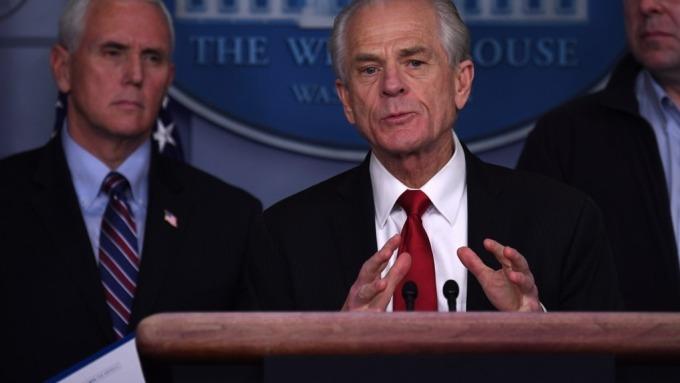 延遲支付關稅90天?白宮貿易顧問納瓦羅:假新聞(圖:AFP)