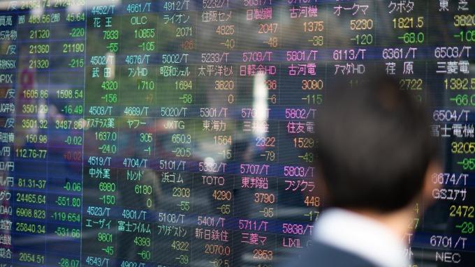 日股大漲8%!受美股表現刺激與東奧延期激勵 (圖片:AFP)