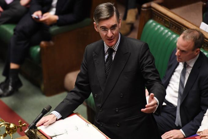 英國下議院議員 Jacob Rees-Mogg (圖:AFP)