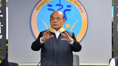 蘇揆拍板 胡南澤升任台水董座 李賢義接掌港務公司。(圖:行政院提供)