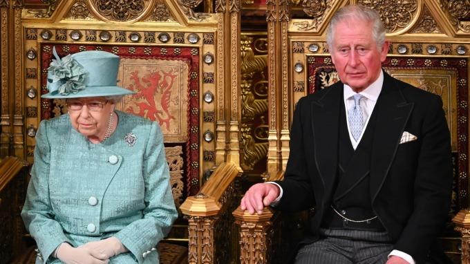 查爾斯王子染疫!白金漢宮:英國女王健康無虞。(圖片:AFP)