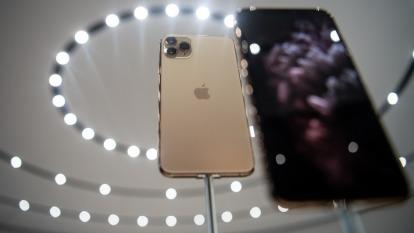 日經新聞報導,蘋果評估5G iPhone延後幾個月發表。(圖:AFP)