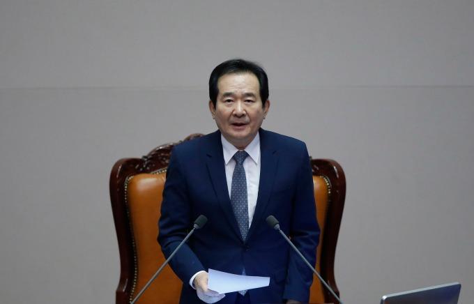 南韓國務總理丁世均 (圖片:AFP)