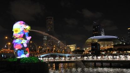 亞洲經濟轉壞跡象?新加坡首季GDP估年減2.2% 大幅下修全年成長預期(圖:AFP)
