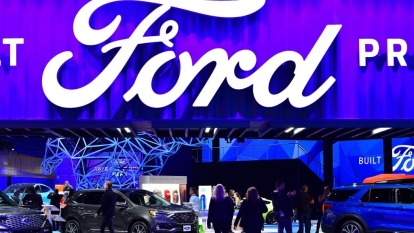 美國汽車業陷入掙扎 標普將福特評級下調至垃圾債(圖:AFP)