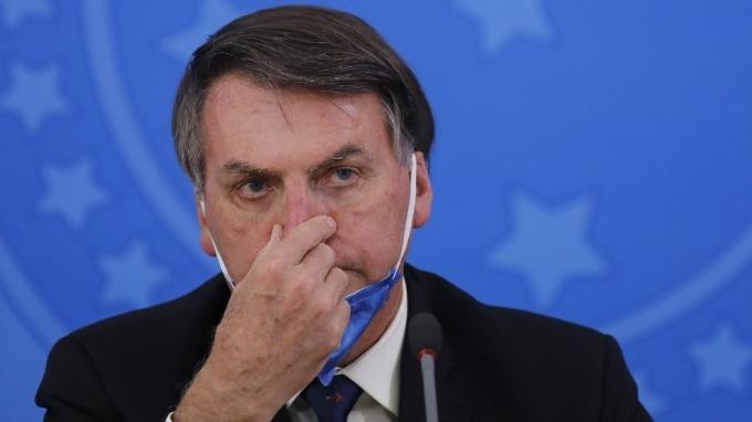 川普找到知音?巴西總統:地方政府封城做法是犯罪 (圖:AFP)