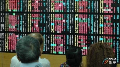 台股終場上漲91.61點,日線連3紅。(鉅亨網資料照)