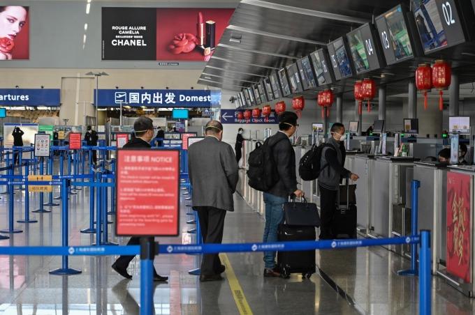 全球國際線運量大減 56% 空運成本大漲 航空公司經營陷困境 (圖片:AFP)