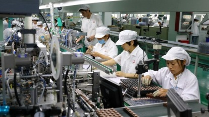 東碩等四家企業加碼投資34億元,累計投資台灣三大方案達9252億元。(圖:AFP)