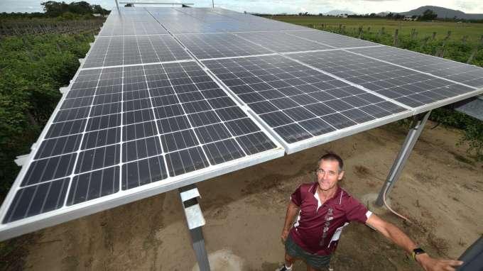澳洲人也在搶購太陽能(圖片:AFP)