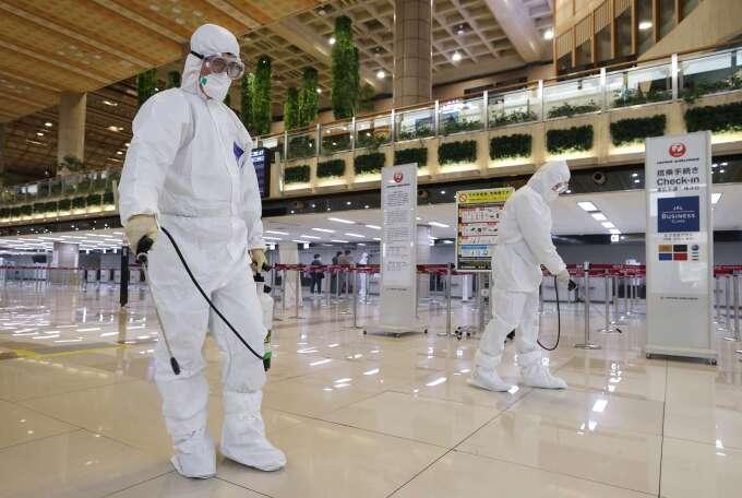 肺炎重創南韓觀光業 外國遊客暴減 4 成、關閉機場免稅店 (圖片:AFP)