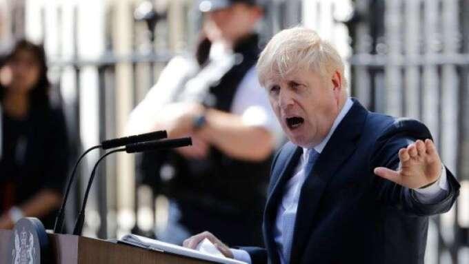 英國首相強生確診肺炎 將透過視訊持續領導抗疫工作(圖:AFP)