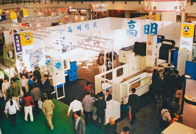 高明精機研製出台灣第 1 台龍門型加工中心機,也是台灣首個打入中國市場的業者。(張仕育提供)