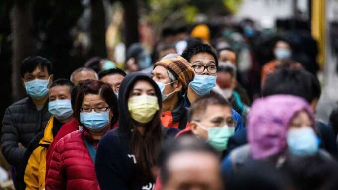 武漢肺炎疫情更新:美國肺炎疫情狂飆 累計確診破12萬(圖片:AFP)