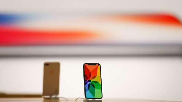 瑞銀大砍蘋果目標價 iPhone銷量預估下滑16% (圖片:AFP)