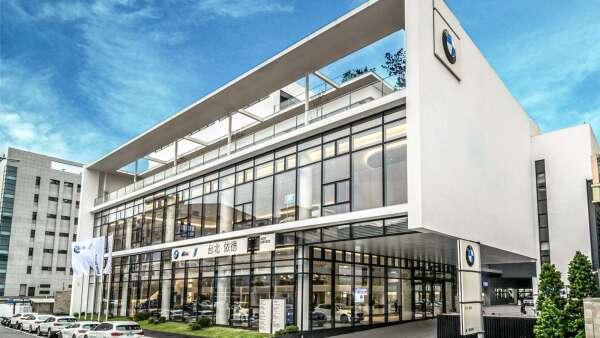 BMW台北依德中和5S全功能展示暨服務中心啟用。(圖:汎德提供)