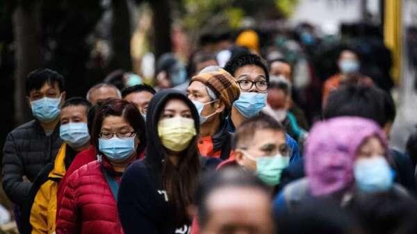 武漢肺炎疫情更新:4月1日起中國疫情統計納入「無症陽性」病例(圖片:AFP)
