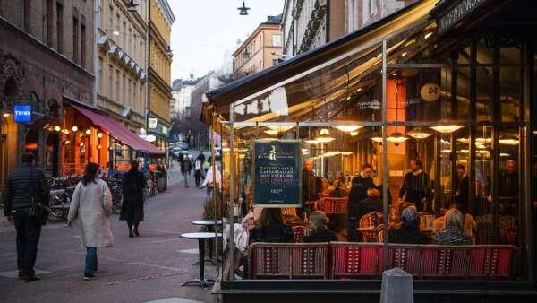 瑞典佛系抗疫的底氣(圖:AFP)