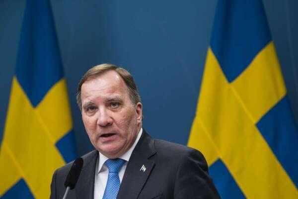 瑞典總理 Stefan Löfven(圖: AFP)
