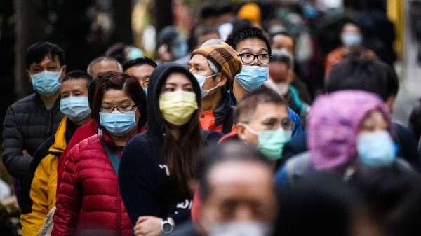 全球新冠確診突破100萬 死亡人數超過5萬。(圖片:AFP)