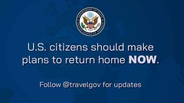 美國即將鎖國?國務院要求全體公民盡速返國。(圖片:AFP)
